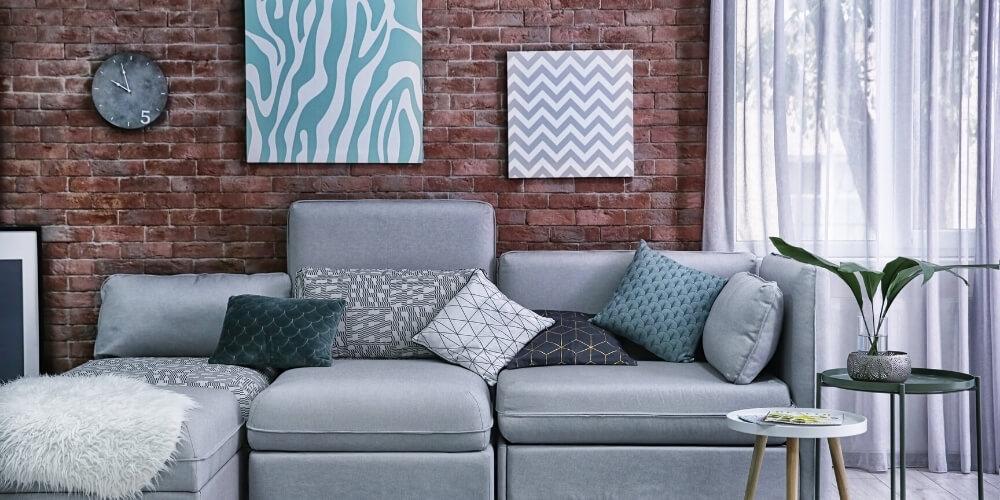 חיפוי קירות פנים לסלון