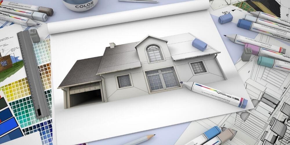 עיצוב בתים מבחוץ